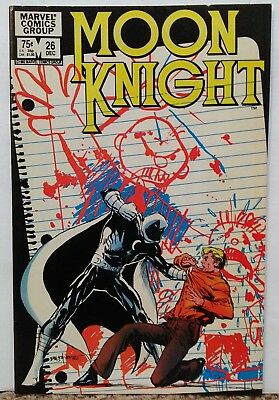 MOON KNIGHT #26 - 1980 First Series Nice Condition MARVEL COMICS Hot series