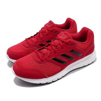 huge discount 546d5 4dec3 adidas Duramo Lite 2.0 Scarlet Black White Men Running Shoes Sneakers B75580
