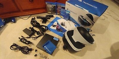 Like New Sony PlayStation VR Headset Value Pack