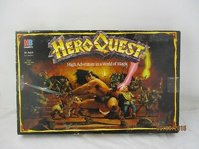 Vintage Hero Quest Board Game MB Games Spare Parts