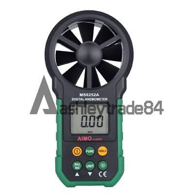 MS6252A Handheld Digital Anemometer Wind Speed Meter Air Flow Tester