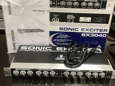 "BEHRINGER SX3040 - SONIC EXCITER - Stereo Sound Enhancement Processor 19"" Rack"