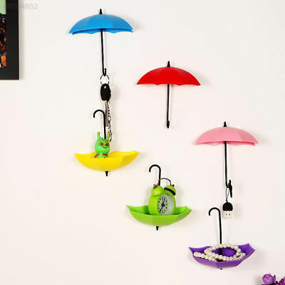 93A8 3pcs Lovely Bathroom Wall Hangers Shaped Wall Candy Coat/Clothing Hanger