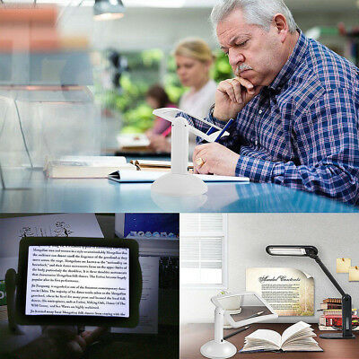 3FC7 Reading Magnifier Office Gadget Accessories Magnifying Tool Home Durable