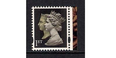 GB 2000 sg2133 Double Head Machin 1st Perf 14, 2 bands - MNH