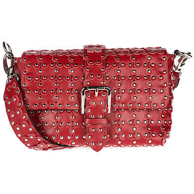 Borsa Valentino Red A In Flower Shopping Pelle Nuova Donna Spalla SMVpUz