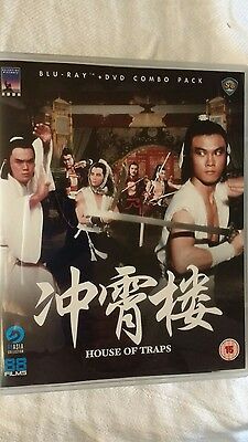 House Of Trap  Blu-Ray & Dvd Combo  Chang Cheh Venoms New
