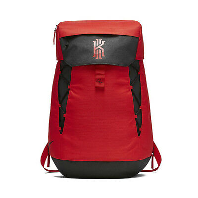 9512cbc561e3 Nike Kyrie Irving Elite Backpack Daypack Red Basketball Bag 37L BA5788-657