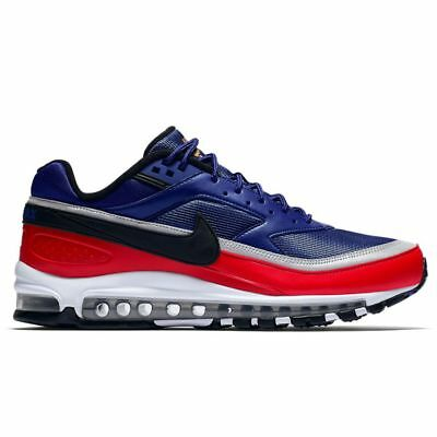 NIKE Men s AIR MAX 97 BW Deep Royal Blue Red Sneakers AO2406-400 Size 7 73300f353