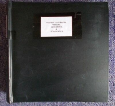 Wirral Liverpool & Northwich Cheshire Scrapbook Style Photo Album Collection