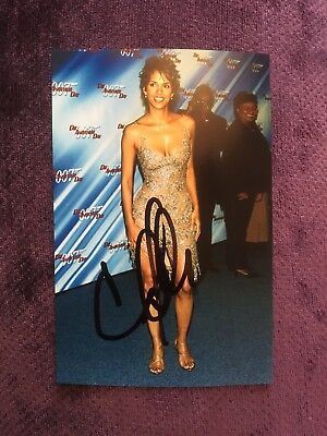 Halle Berry (Actress) Original Hand Signed AUTOGRAPH