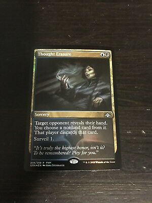 Promo Foil Thought Erasure X1 Magic cards MTG