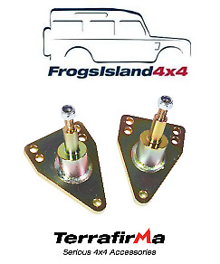 Tf512 Terrafirma Rear Shock Lowered Top Mounts For Land Rover Discovery 1