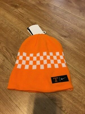 check out 9075b 20ca8 NWT Nike Tennessee Volunteers Reverse Knit Beanie Hat Orange