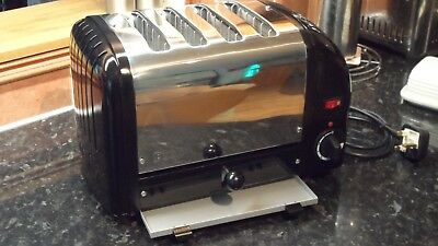 A professionally  remanufactured Dualit 4 Slice Toaster utterly beautiful