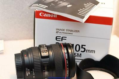 Canon 24-105mm F4 IS USM L Series Zoom lens  GREAT CONDITION