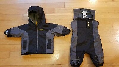 Baby 6 Months Infant Columbia Winter Snow Suit Salopets Jacket waterproof