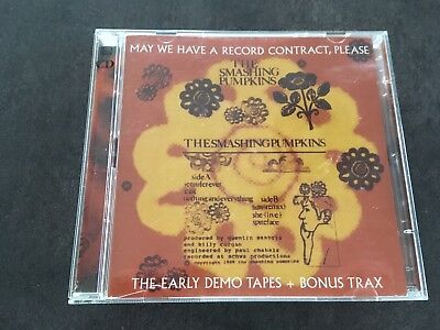 Smashing Pumpkins May We Have A Record Contract Please Rare Double 2 CD PER03/04