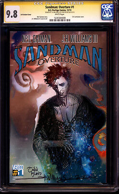 Sandman Overture #1 3D Variant CGC SS 9.8 Signed by JH Williams III & Todd Klein