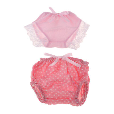 Handmade Cute Doll Underpants Underwear Briefs Clothes for Mellchan Baby Toy