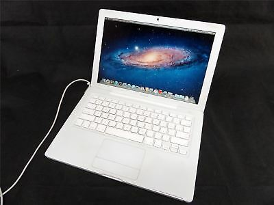 """Apple MacBook 2.1 A1181 13"""" Laptop - Core2Duo 2GHz 2GB Ram 500GB HDD OS X Lion"""