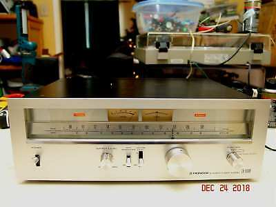 120/240v Vintage Pioneer TX-9500 Stereo Analog Am/Fm Tuner with Manuals