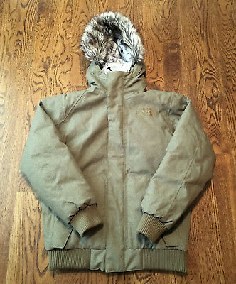 The North Face Bedford Down Bomber Jacket Mens Small  319 Retail EUC Coat  Hyvent 4f110c4e0