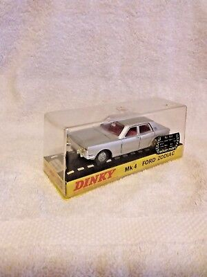 Superb! Dinky Toys MK4 Ford Zodiac 1/43 Meccano  Excellent condition in casing