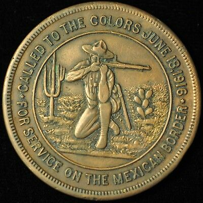 1916 Service on the Mexican Border token/ medal. ITEM B45