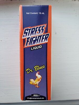 Gallos Stress Fighter Liquid 15ml - New Product of Breco/Dr.Blues