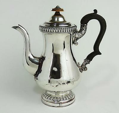 GEORGIAN OLD SHEFFIELD PLATE COFFEE POT c1820 Smart Decoration
