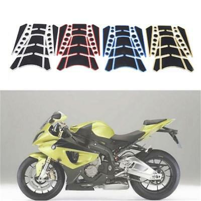 Universal Motorcycle Gas Fuel Oil Tank Pad Fish Bone Decal Sticker Protector DD