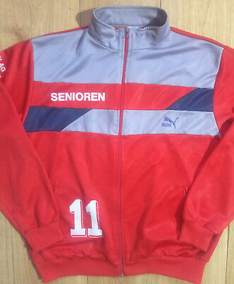 15b69cd60452 Puma FC Trimbach Swiss Vintage 90 s Mens Tracksuit Top Jacket Football  Soccer