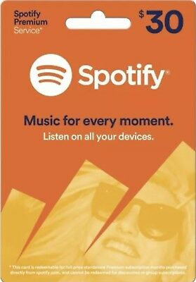 Official Spotify Gift Card 3 Months USA Subscription, (FREE @) WORKS Worldwide