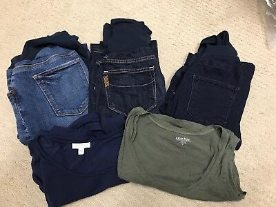 A Pea In The Pod Maternity LOT 5 Items Including Paige Jeans