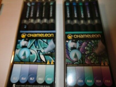 7 Sets of Chameleon , Double Ended Marker Pens, New, Free Shipping
