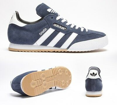 Mens Adidas Samba Super Suede Navy/Run/White 019332 Casual