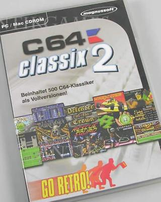 C64 Classix 2 II PC 2006 DVD-Box Turrican 1 2 Defender of the Crwon