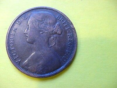 1862  Great Britain Penny