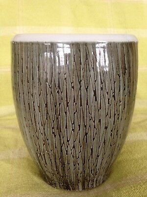 Large Rye Pottery Vase, Signed Dennis Townsend