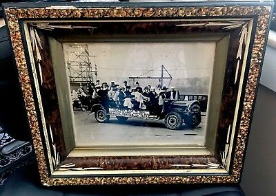 True Vintage Original Antique Photo Mack Truck Allentown Old #9 Early 1900s