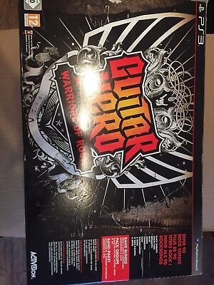 Guitar Hero Ps3 Complete Box Set Never Been Used