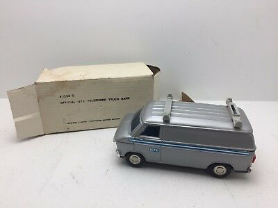 Western Stamping Corporation Official GTE Telephone Truck Bank (O4)