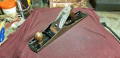 Vintage Stanley No 6 Bailey Wood Plane