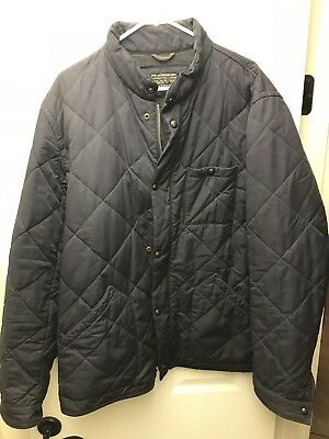 J.Crew Men's Sussex Quilted Jacket NAVY Sz XLT