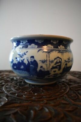 Antique Chinese Porcelain Bowl Blue and White