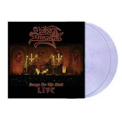 King Diamond - Songs For The Dead Live (2LP CLEAR PURPLE Vinyl Limited Edt.)