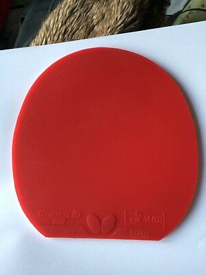 Butterfly Tenergy 05 Hard Table Tennis Rubber (Red,2.1)