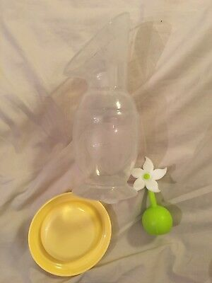Haakaa Silicone Breast Pump With Lid And Stopper