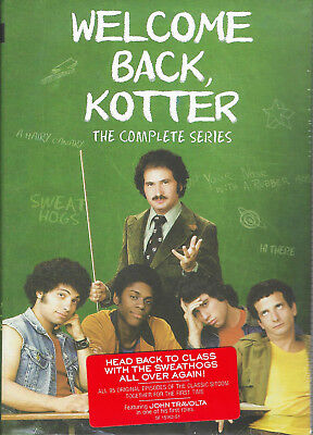 Welcome Back Kotter Complete Series (16 Disc Box Set, DVD) Brand New